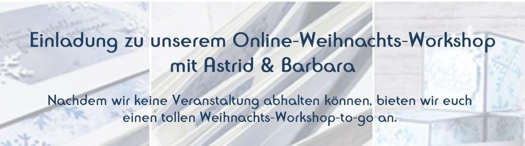 Anmeldung Online-Weihnachtsworkshop